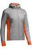 Icebreaker M's Helix LS Zip Hood Fossil/Spark